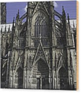 Cologne Cathedral 05 Wood Print
