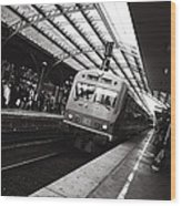 Cologne Trainstation Wood Print by Jimmy Karlsson
