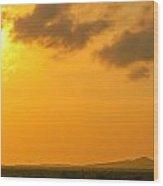 Colombia Sunrise Wood Print