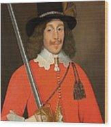 Colonel John Hutchinson, C.1643 Wood Print