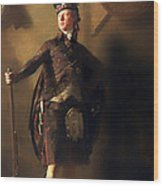 Colonel Macdonnel Of Glengarry Wood Print