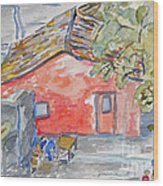 Colonia Del Sacramento Wood Print