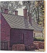 Colonial Williamsburg Wood Print