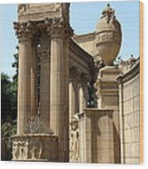 Colonnades Palaces Of Fine Arts Wood Print