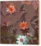 Color 122 Wood Print