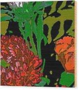 Color 123 Wood Print