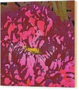 Color 128 Wood Print
