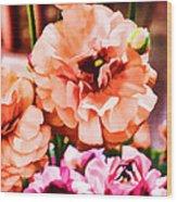 Color 145 Wood Print