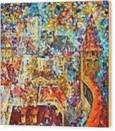 Color Castle Wood Print