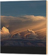 90234 Color Cloud Nm  Wood Print
