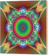 Color Cross Wood Print