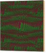 Color Fantasia Catus 1 No 1 V Wood Print