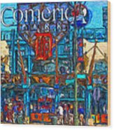 Color In Comerica Wood Print