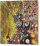 Color Intoxication Remix Wood Print
