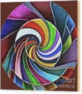 Color Me Again Wood Print