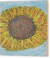 Color Me Sunshine Wood Print
