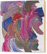 Color Mix 15 Wood Print
