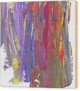 Color Mix 21 Wood Print