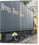 Color Of Nickel Wood Print