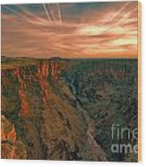 Color Of The Grand Canyon South Rim V8 Wood Print