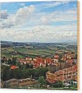 Color Of Tuscany Wood Print