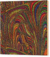 Color World Wood Print