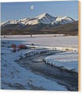 Colorado 14er Mt. Elbert Wood Print