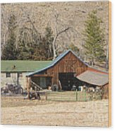 Colorado Barn Wood Print