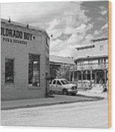 Colorado Boy Wood Print