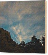Colorado Canyon Star Gazing  Wood Print