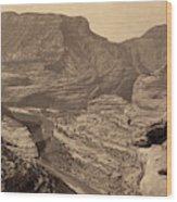 Colorado Canyons, 1872 Wood Print