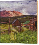 Colorado Dreamin' Wood Print