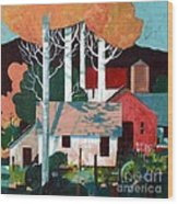 Colorado Farm Wood Print