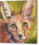 Colorado Fox Wood Print
