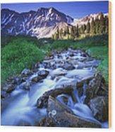 Colorado High Country Wood Print