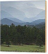 Colorado High Wood Print