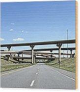 Colorado Highway Wood Print