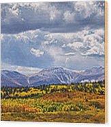 Colorado Landscape Wood Print