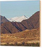 Colorado Mountain High Wood Print