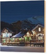 Colorado Mountain Life Wood Print by Michael J Bauer