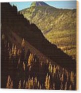 Colorado Number Seven Wood Print