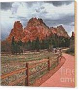 Colorado Path To Paradise Wood Print
