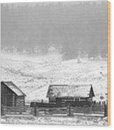 Colorado Pioneer Wood Print