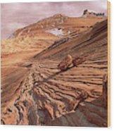 Colorado Plateau Sandstone Arizona Wood Print