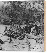 Colorado Railroad Wars Wood Print