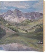 Colorado Reflections Wood Print