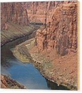 Colorado River Arizona Wood Print