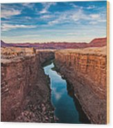 Colorado River At Marble Canyon Wood Print