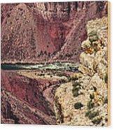 Colorado River. Grand Canyon Wood Print