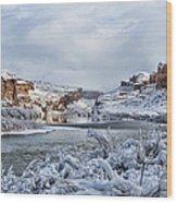 Colorado River Wood Print